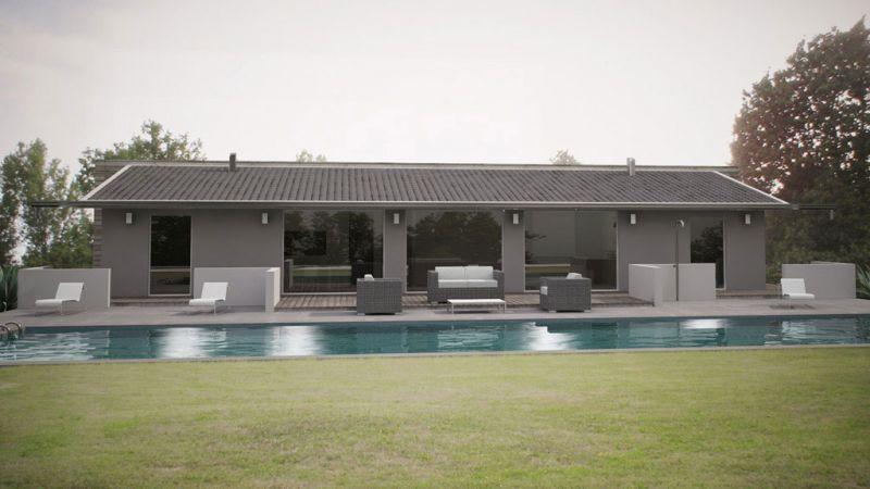 Abitazioni prohouse modena finale emilia case ecologiche for Ville moderne con vetrate