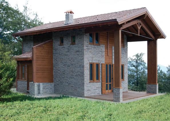 Case prefabbricate in legno a brescia for Foto di case