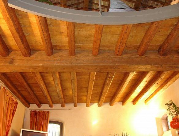 Costo Travi In Legno Per Soffitto : Tetti in legno a padova