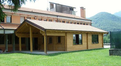 Ufficio In Legno Prefabbricato : Case prefabbricate in legno a vercelli