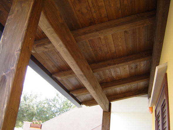 Soffitto In Legno Lamellare : Prefabbricati in legno in sicilia