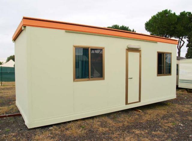 Case mobili a roma for Moduli abitativi usati