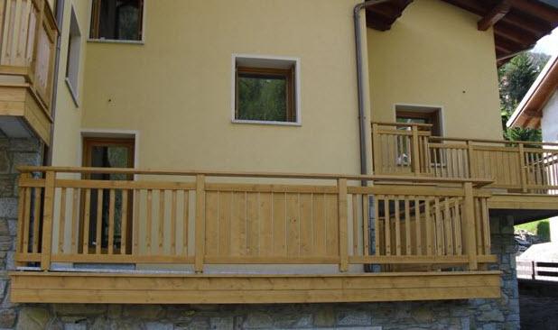 Biasi legno trento coredo strutture in legno - Scale prefabbricate in legno ...
