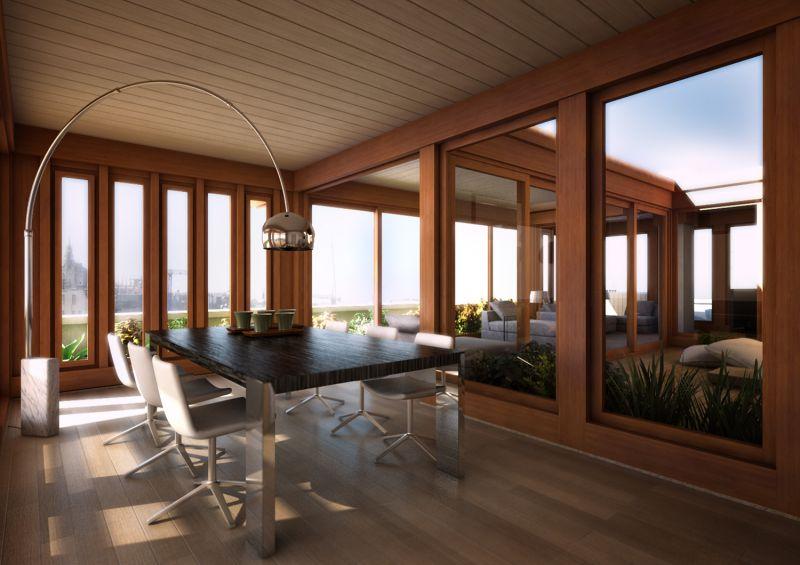 Biolegno roma case prefabbricate in legno for Arredare verande chiuse