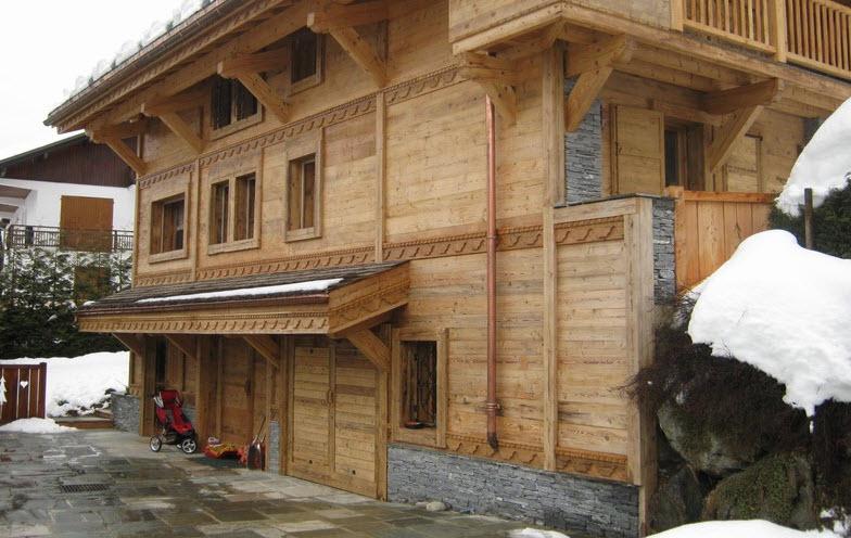Tetti in legno a cuneo - Ristrutturazione finestre in legno ...