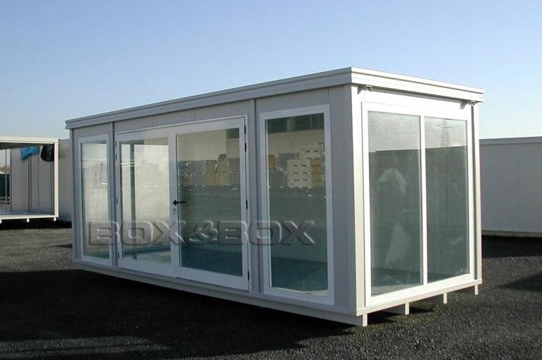 Container Ufficio Usati A Lecce : Box monoblocchi e prefabbricati modulari pag