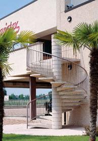 C a scale brescia calcinato scale prefabbricate for Aggiunta garage modulare