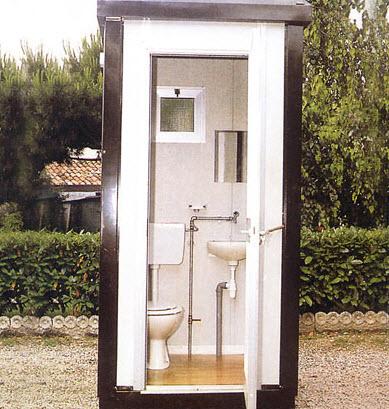 Monoblocchi e prefabbricati modulari a verona - Box bagno esterno ...
