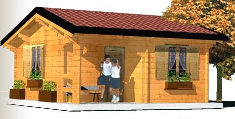 Bungalow a vicenza for Disegni casa bungalow