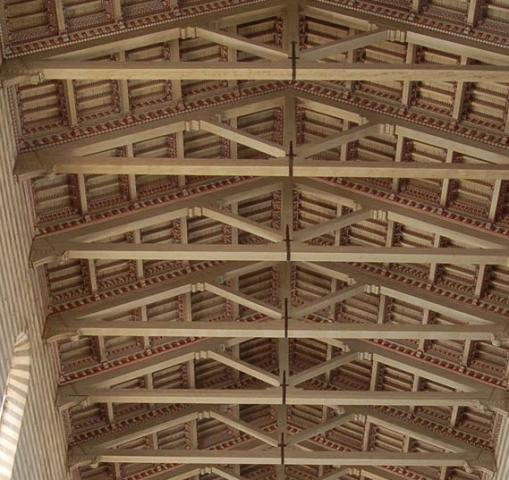 Tetti in legno a roma