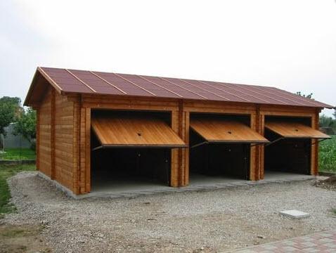 Fratelli colle belluno lentiai prefabbricati in legno - Garage prefabbricati in legno ...