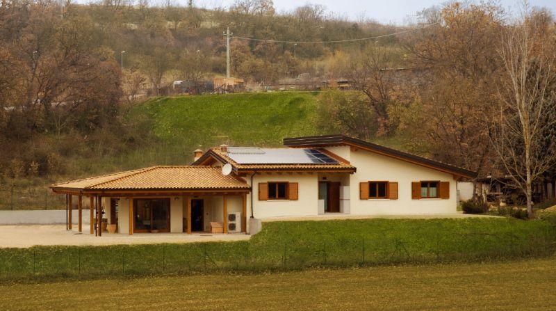 Ville prefabbricate a roma for Tetti di case moderne