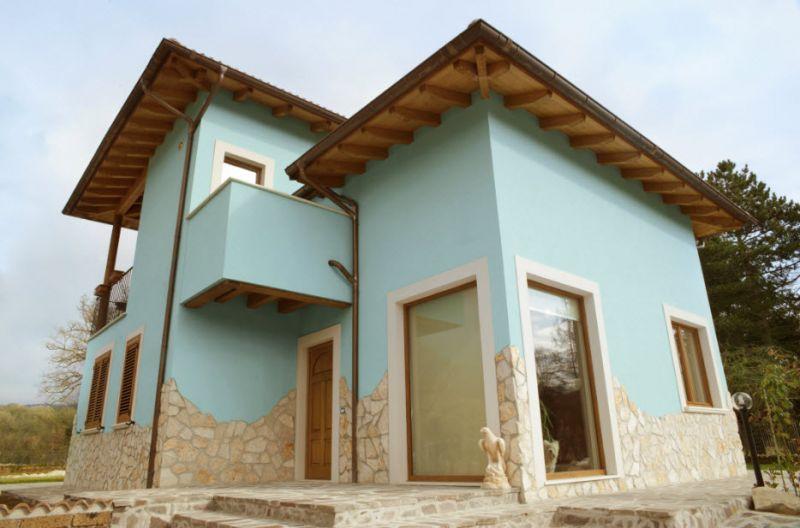 Facciate case rustiche facciate case rustiche with for Piani di casa americani