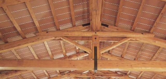 Gruppo Marchetti - Pisa (San Giuliano Terme) - Strutture in legno