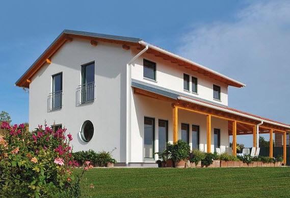 Haas fertigbau bolzano ora ville prefabbricate for Aziende case prefabbricate in legno