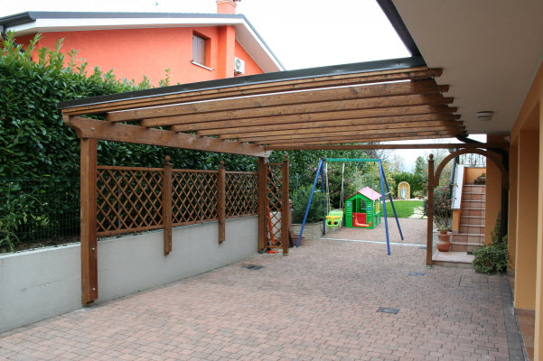 pergolati in legno con copertura vetro : Pergolati In Legno Con Copertura Vetro : Le aziende di pergolati e ...