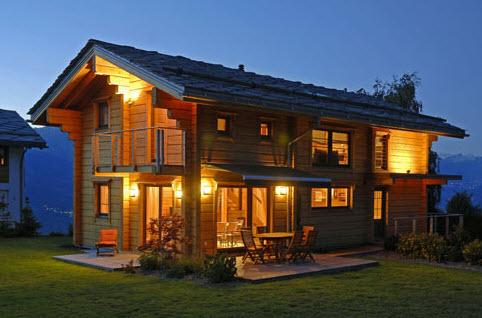 Case prefabbricate in legno in piemonte for Case di tronchi di blocchi di legno