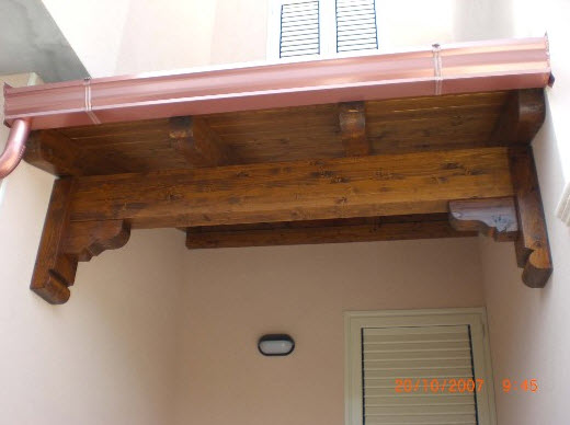 In Legno Coperture - Brindisi (Oria) - Strutture in legno