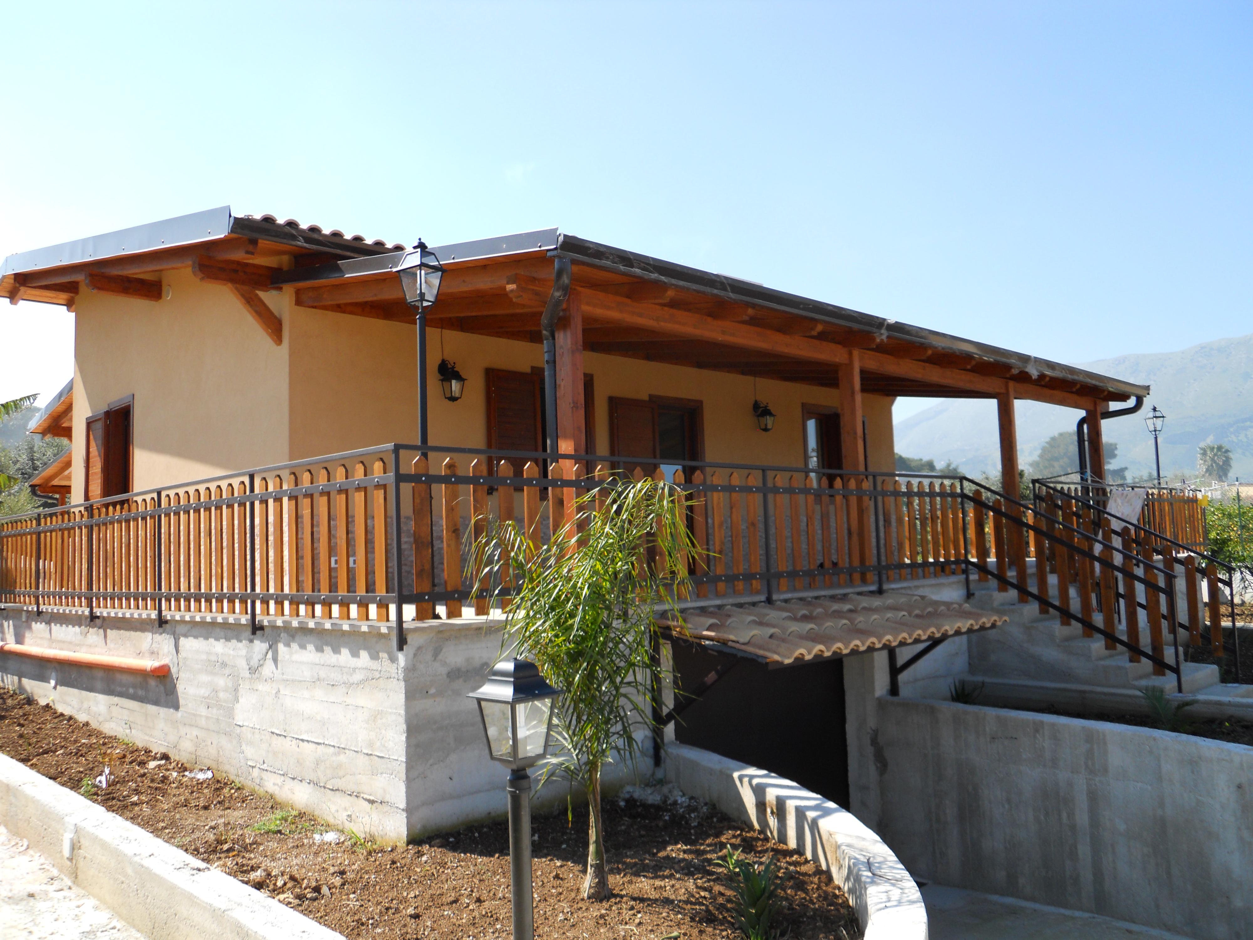 Tetti in legno a palermo for Tetti di case moderne