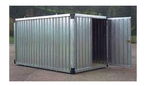Container Ufficio Usati A Lecce : Box monoblocchi e prefabbricati modulari