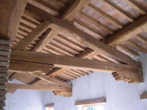 Tetti in legno nel lazio for Tetti in legno particolari costruttivi