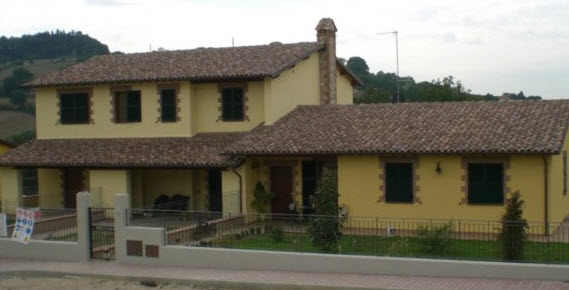Tetti in legno in Umbria