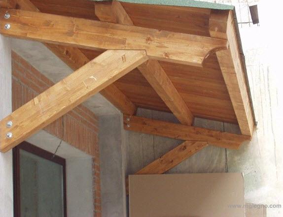 Coperture prefabbricate in legno