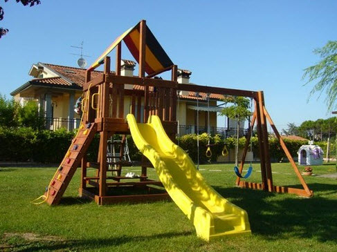 Prefabbricati in legno a venezia - Giochi da esterno per bambini ...