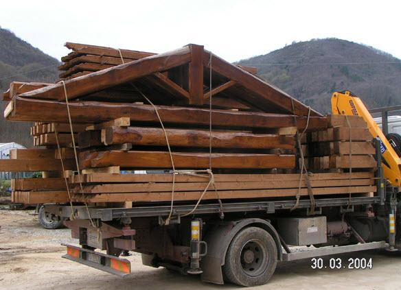 Santini Legnami - Lucca (Pescaglia) - Tetti in legno