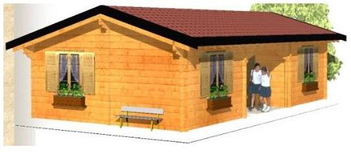 Casette da giardino a pisa for Offerte case in legno abitabili