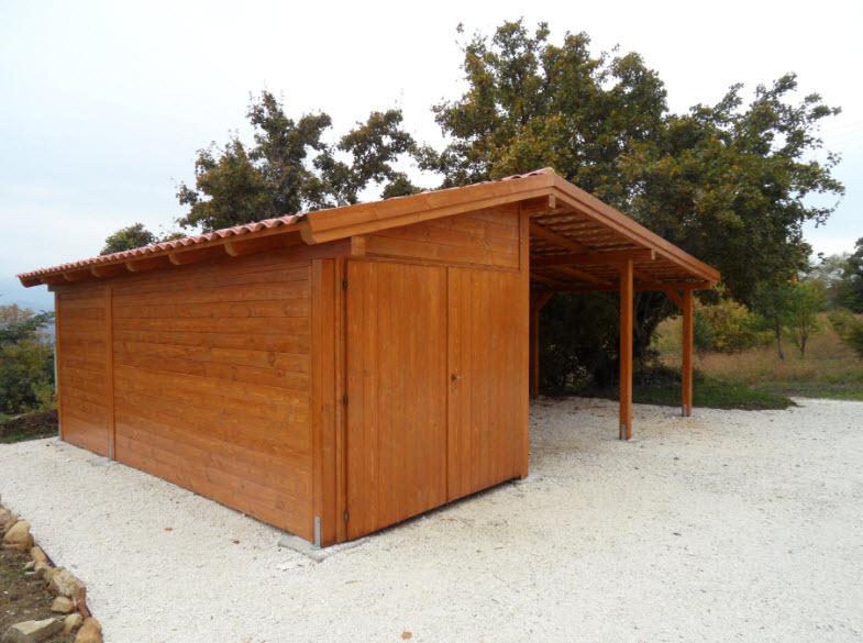 Prefabbricati in legno nelle marche for Aggiunte garage alle case