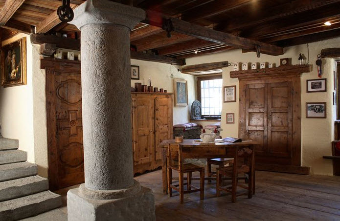 Case prefabbricate in legno in piemonte for Case in legno interni