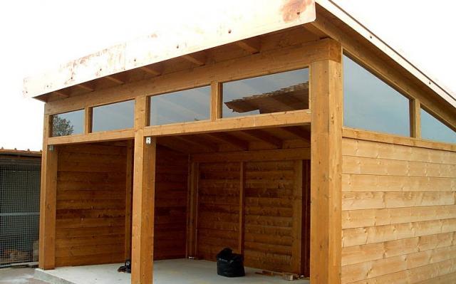 Tf legno piacenza podenzano tetti in legno for Strutture prefabbricate in legno