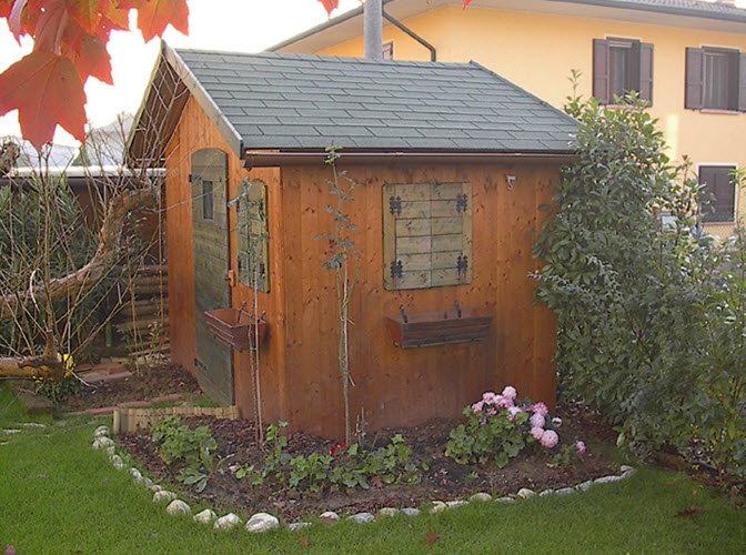 Casette da giardino in veneto