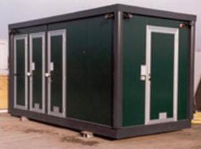 Box Ufficio Usato Lombardia : Prefabbricati coibentati in lombardia