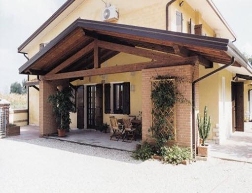 Pergolati e pergole prefabbricati for Immagini di portico per case