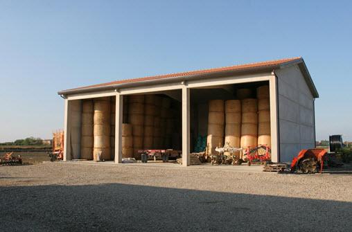 Prefabbricati agricoli for Capannone prefabbricato agricolo prezzi