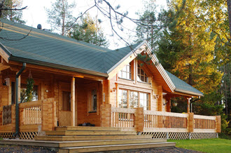 Baite e chalet prefabbricati for Disegni casa bungalow