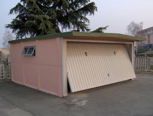 Box auto e garage prefabbricati for Due box auto