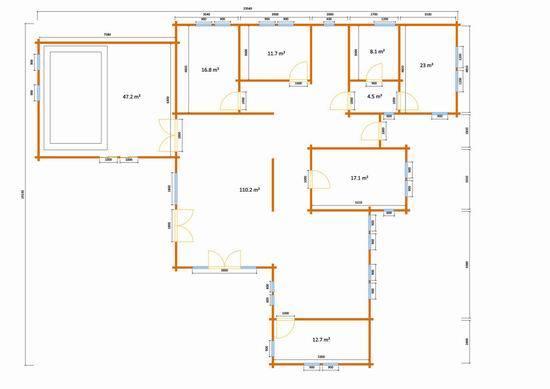 Fiera emaia 2013 presentata la casa in legno di 54 mq da for Esempi di disegni di planimetrie della casa