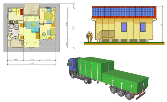 Quali sono i costi fissi per la costruzione di una casa prefabbricata in legno - Costi di costruzione casa ...