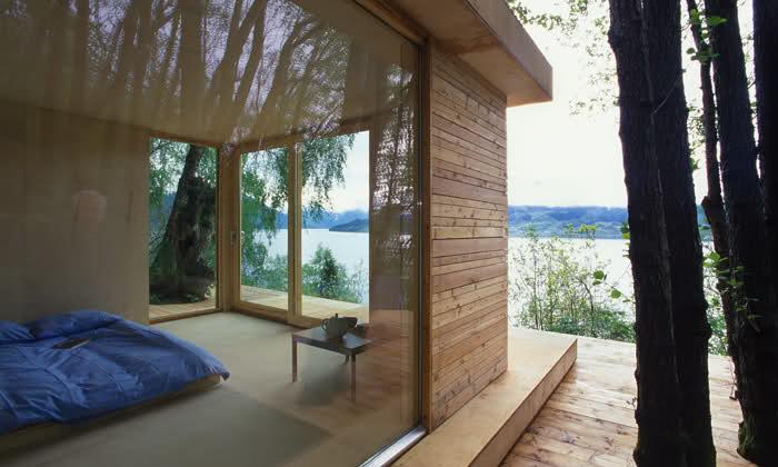 Come arredare la zona notte delle case prefabbricate in legno - Casa prefabbricata moderna ...