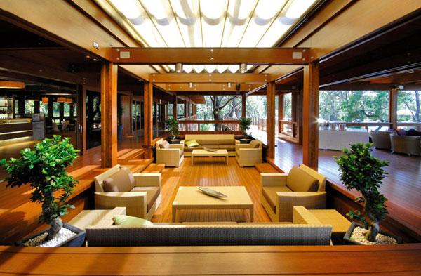 Come arredare la zona giorno delle case prefabbricate in for Case in stile moderno