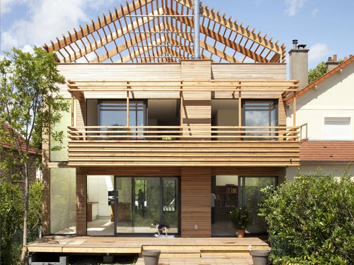 Costruzione di una casa prefabbricata in legno ecocompatibilit e sostenibilit i due must green - Costruzione di una casa ...