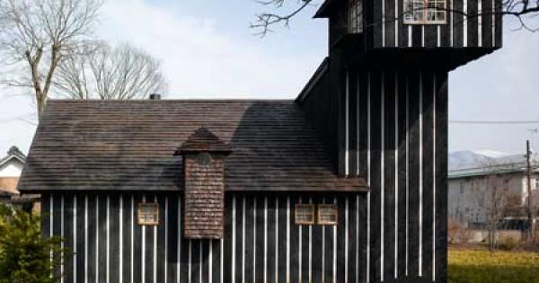 Le stravaganti case sostenibili di terunobu fujimori for Case stravaganti