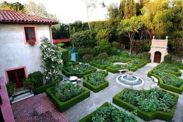 Come progettare e arredare il giardino di una casa ecologica - Giardino all italiana ...