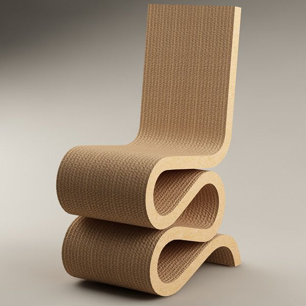 Wiggle Side Chair_Frank O' Gehry_Collezione Easy Edge_Vitra
