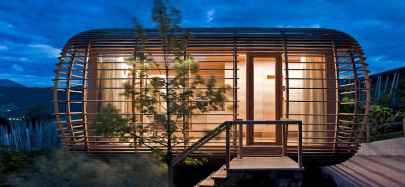 La casa pi piccola e pi bella del mondo fincube unit abitativa temporanea - La casa piu bella al mondo ...