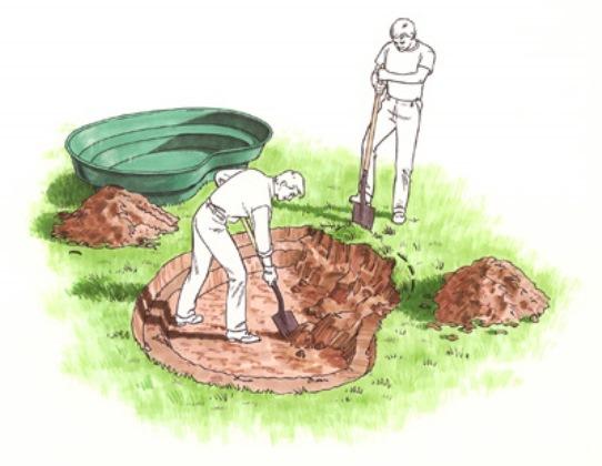 I laghetti prefabbricati una comoda soluzione per for Vasca laghetto rettangolare