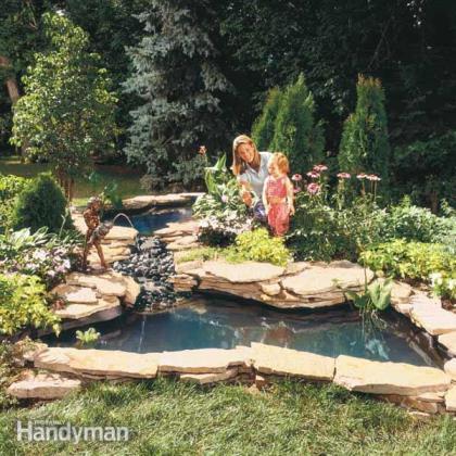 I laghetti prefabbricati una comoda soluzione per - Laghetto giardino ...
